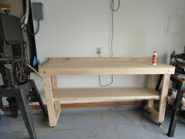 Edsal 48 In W X 24 In D Workbench With StorageMRWB4  The Home Work Benches Home Depot
