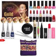 color diva 24 pcs makeup skin care kit with free bag make up kits home18
