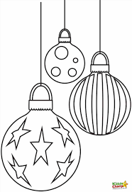 Small Picture Pages Pictures Of Christmas Bulbs Printable Pages Design Ornaments