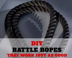 diy exercise equipment projects diy battle ropes homemade weights and strength training projects