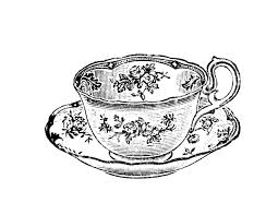 teacup and teapot drawing. Modren Teapot Images For U0026gt Vintage Teacup Drawing Teapot Tattoo Cup Tea  Intended And R
