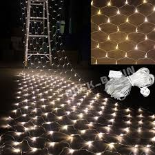 Outdoor Net Lights Warm White 3mx2m 210 Led Outdoor Warm White Fairy Curtain Net Christmas