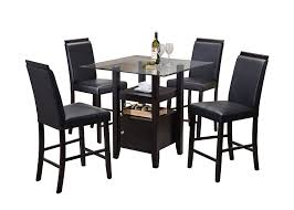 get ations pilaster designs 5 piece counter height dining set table 4 chairs