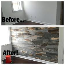 wood accent wall space and company reclaimed 1 diy bathroom wood accent wall