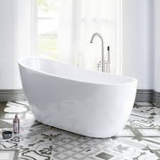 Image Shower Combination 54 Wayfair Small Freestanding Bathtub Wayfair