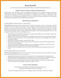 3 4 Retail Resume Objectives Examples Knowinglost Com