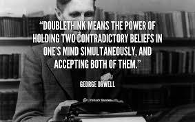 Image result for doublethink