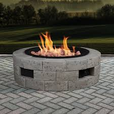compromise homemade gas fire pit kit propane burner hole size kits diy