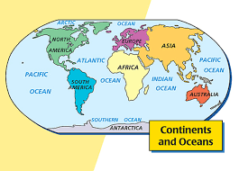6. The World: Continents, Countries, and Oceans: The World Lesson ...