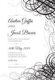 Wedding Invite Layout Images Invitation Templates Free Greetings