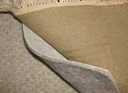 area rug over carpet pad
