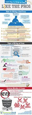 a website that help student write good essays how to make  how to write an essay like the pros infographic study tips make writing better 8246944ff45f3b3b73887a05472 how