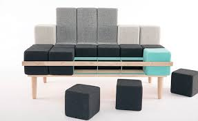 Shape shifting sofa lets you be your own furniture designer