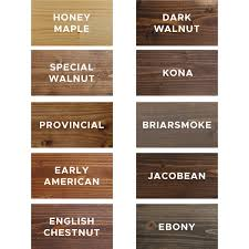 Minwax Stain Mixing Chart 10 Favorite Wood Stain Colors Angela Marie Made
