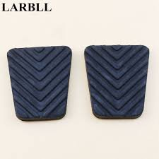 LARBLL Pair Car styling <b>Brake Clutch Rubber</b> Pedal Pad Cover Car ...