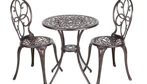 metal set agreeable dining and cover chairs tablecloth side outdoor round small gardening appealing table 2