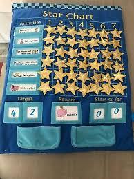 Fiesta Crafts Fabric Star Chart Fiesta Crafts Fabric Progress Star Chart Activity Toy