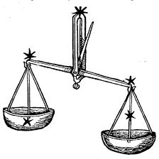 Astrologisch Oliemengsel Voor Weegschaal