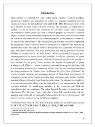 vicarious liability vicarious liability intention criminal law