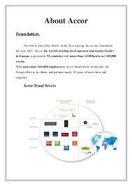 Accor Organizational Chart Novotel