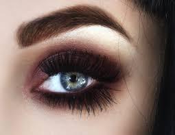smokey eye makeup for blue eyes 2016