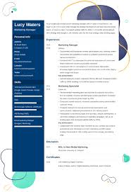 Cv Help Template How To Write A Cv Free Templates And 10 Examples For Every Job