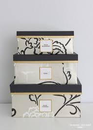 Decorative Cardboard Storage Boxes With Lids DIY WallpaperCovered Storage Boxes 30