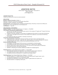 New Teacher Resume Examples Incredible Design Borders Graduate