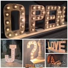 lighting letters. marquee letter lights lighting letters h