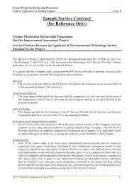 11 Service Agreement Contract Template Examples Pdf Word
