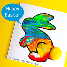 Free Craft Printables Templates Easy Bunny Craft Printable Bunny Template Included