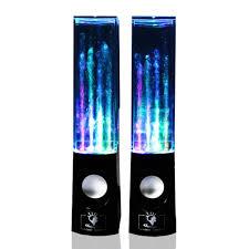 speakers target. dancing water speakers black target