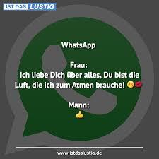 Whatsapp Frau Ich Liebe Dich über Alles Du B Istdaslustigde