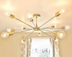 sputnik style pendant light elegant free the shepard modern brass sputnik chandelier