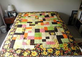 Floral Flannel Yellow Brick Road – Bernina Quilt Frame Quilt #2 ... & Floral Flannel Yellow Brick Road Quilt Adamdwight.com