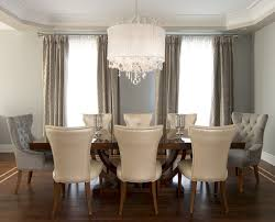 Long Crystal Chandelier Dining Room Transitional With Flowers - Dining room crystal chandeliers