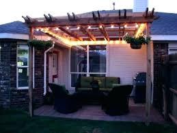 outdoor pergola lighting. Pergola Lights Outdoor Lighting