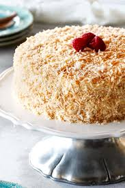 Best Ever Coconut Cake With 3 Types Of Coconut