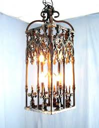 votive candle chandelier delightful outdoor interior doors with glass hanging wrought iron ca