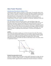 new trade theories sample essay oxbridge notes the united kingdom related international trade samples