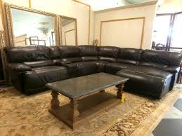 home american signature leather sectional loading images