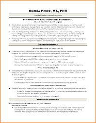 Sample Resume Of Hr Recruiter Fair Sample Resume Human Resources Recruiter With Chic Sample Resume 19