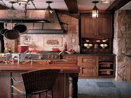 Kitchen Cabinets Ed Kitchen Design 20 Photos And Ideas Rustic Wooden Kitchen