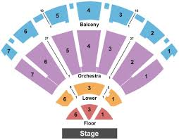 Ogden Theater Seating Chart Bellco Theatre Tickets In Denver Colorado Bellco Theatre