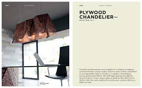 plywood lighting. Lighting - Plywood Chandelier 1 / 2 Pages