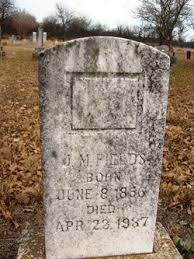 James Marion Fields (1856-1937) - Find A Grave Memorial
