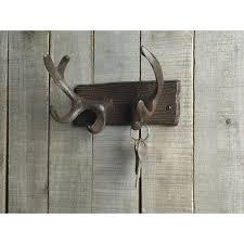 Decorative Wall Mounted Coat Rack Inspiring Cast Iron Deer Antlers Decorative Wall Hooks Mounted Coat 100