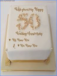 50th Wedding Anniversary Cake Toppers Australia Images Of Golden