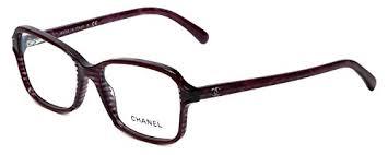chanel eyeglasses. amazon.com: chanel designer eyeglasses 3317-1517 in wine 52mm demo lens: clothing