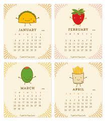 2020 Fun Food Desk Calendar By Night Owl Paper Goods